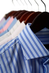 Ironed shirts